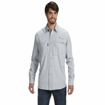 Men's Long-Sleeve Catch Fishing Shirt: (DD4405)