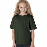 New Balance Youth T-Shirt: 100% Polyester Birdseye Pique Knit Flatback Mesh NDurance Athletic (NB7118B)