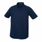 New Wave Men's Twill Shirt: 55% cotton, 45% polyester  Short Sleeve (MNW00004)