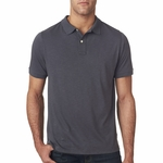 Next Level Men's Polo Shirt: Slub Cotton/Poly (6420)