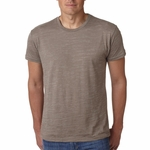 Next Level Men's T-Shirt: Poly/Cotton Jersey Blend Burnout (6110)