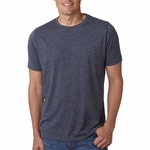 Next Level Men's T-Shirt: Poly/Cotton Sheer Jersey Blend Short Sleeve Crewneck (6200)