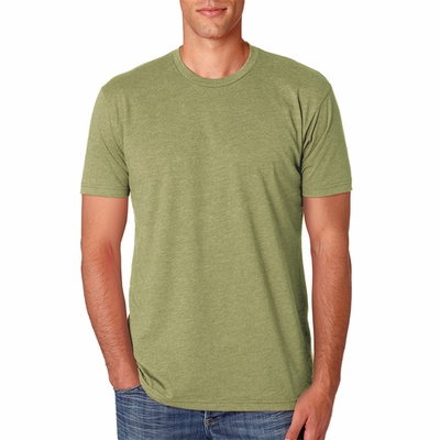 Next Level Men's T-Shirt: CVC Short Sleeve Crewneck (N6210)