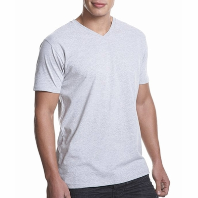 Next Level Men's T-Shirt: 100% Cotton Fine Jersey Fitted Short Sleeve V-Neck (N3200)