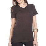 Next Level Women's T-Shirt: 100% Combed Cotton Fine Jersey Boyfriend Short Sleeve Crewneck (3900)