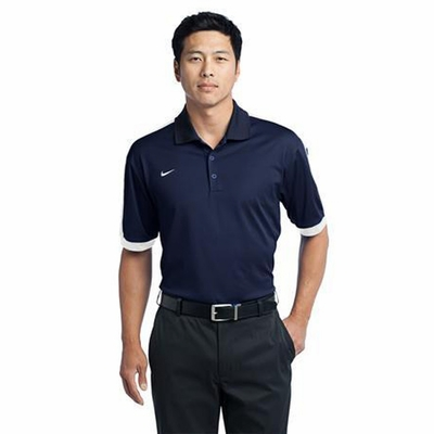 Nike Men's Polo Shirt: N98 Dri-FIT Color Block with Moisture Wicking (474237)