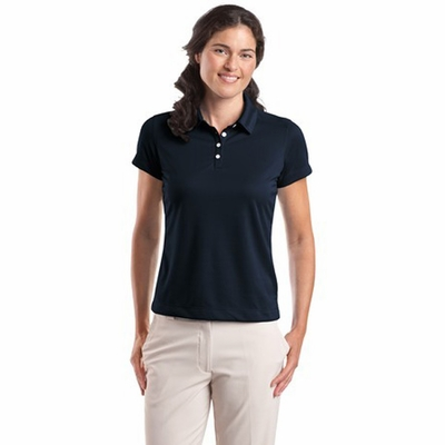 Nike Women's Polo Shirt: Dri-FIT Pebble Texture (354064)