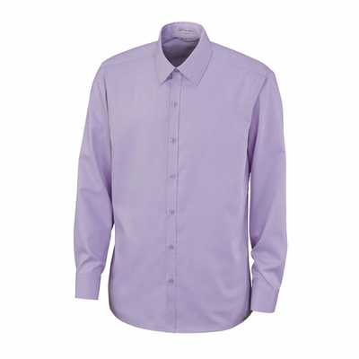 North End Men's Dress Shirt: Cotton Twill Dobby Button Down (88673)