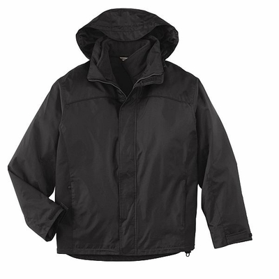 North End Men's Jacket: 3-In-1 Nylon With Zip-Out Anti-Pill Fleece Jacket (88130)