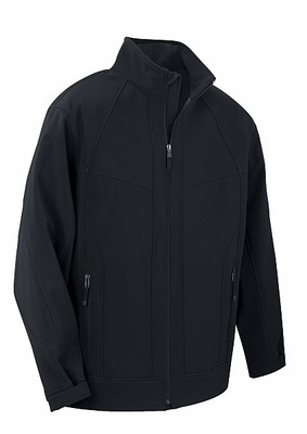 North End Men's Jacket: 3-Layer Weather Technology Breathable Soft Shell (88604)