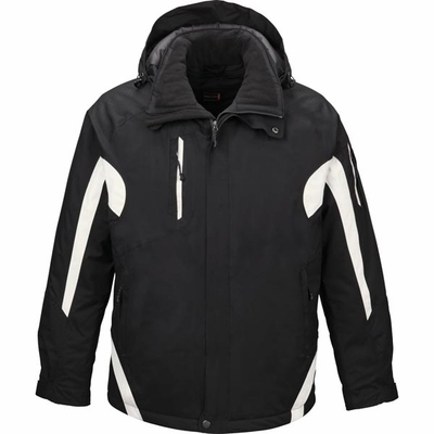 North End Men's Jacket: High-End Mesh Lined Insulated Waterproof  (88664)