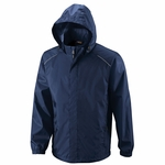Mens Core365 Seam-sealed Lightweight Variegated Ripstop Jacket: (88185)