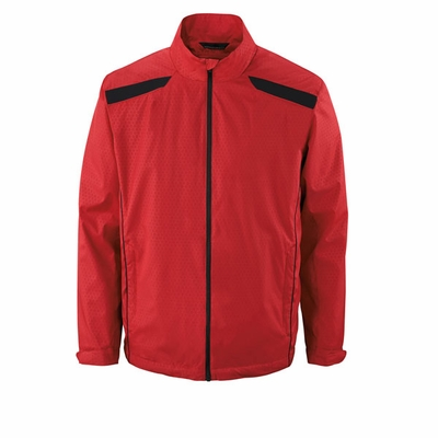 North End Men's Jacket: Lightweight Full-Zip w/ Embossed Pattern (88188)