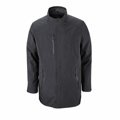 North End Men's Jacket: Lightweight Longer Length Water Resistant (88670)