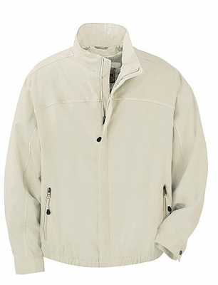 North End Men's Jacket: Microfiber Twill Full-Zip Bomber (88103)