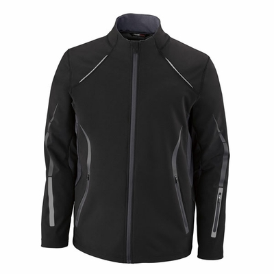 North End Men's Jacket: Performance Soft Shell w/ Contrast Zippers (88678)