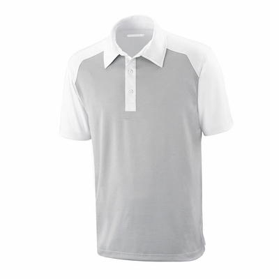 North End Men's Polo Shirt: 100% Polyester Two Tone Performance (88676)