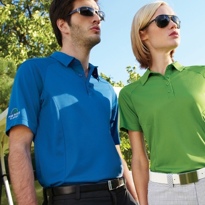 North End Men's Polo Shirt: Easy Care Short Sleeve Performance  (88658)
