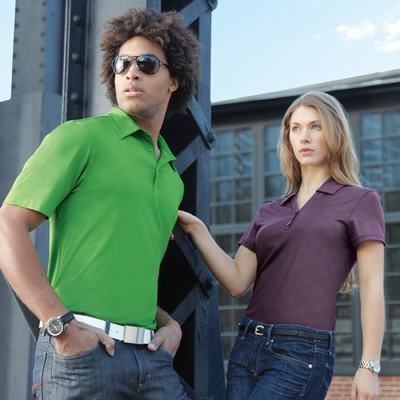 North End Men's Polo Shirt: Performance Comfort Stretch w/ Moisture Wicking (88659)