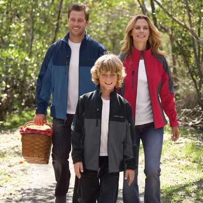 North End Men's Soft Shell Jacket: (88156)