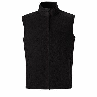 North End Men's Tall Fleece Vest: (88191T)