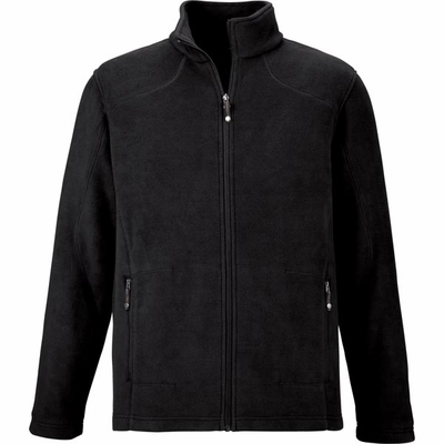 North End Men's Tall Jacket: Extra Soft Anti-Pill Fleece Knit (88172T)