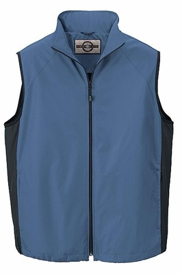 North End Men's Vest: Full-Zip Techno Lite Activewear (88097)