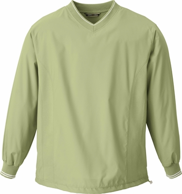 Men's V-Neck Unlined Wind Shirt: (88132)