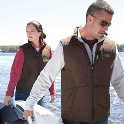 North End Women's Fleece Vest: (78081)