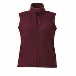 North End Women's Fleece Vest: (78191)