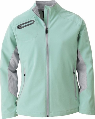 Ladies' Three-Layer Light Bonded Soft Shell Jacket: (78621)