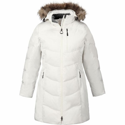 Ladies' Boreal Down Jacket with Faux Fur Trim: (78179)