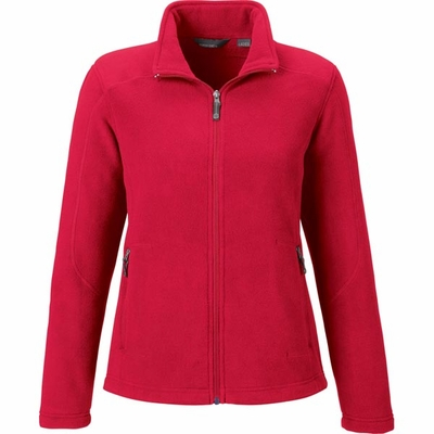 North End Women's Jacket: Extra Soft Anti-Pill Fleece Knit (78172)