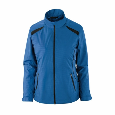 North End Women's Jacket: Lightweight Full-Zip w/ Embossed Pattern (78188)