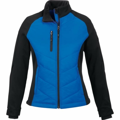 North End Women's Jacket: Lightweight Insulated Bonded Fleece Hybrid (78662)