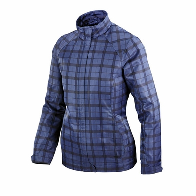 North End Women's Jacket: Lightweight Plaid Print (78671)