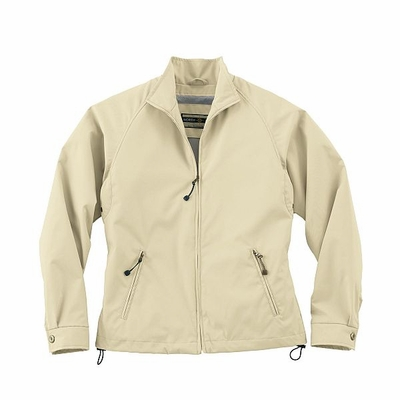 North End Women's Jacket: Microfiber Twill Full-Zip Hip Length (78044)