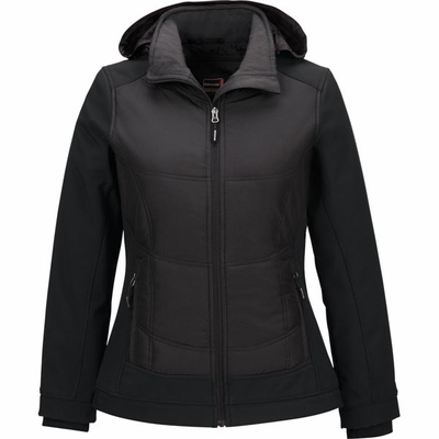 North End Women's Jacket: Water Resistant Insulated Hybrid Soft Shell (78661)