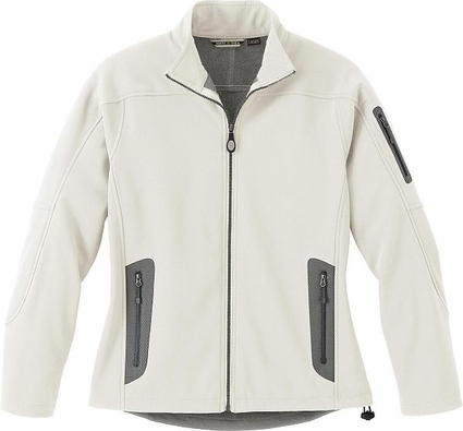 Ladies' Three-Layer Fleece Bonded Soft Shell Technical Jacket: (78060)