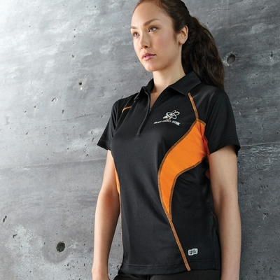 Ladies' Serac UTK cool.logik™ Performance Zippered Polo: (78657)