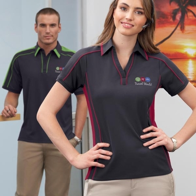 Ladies' Sonic Performance Polyester Piqué Polo: (78648)