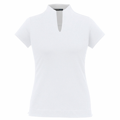 Ladies' Weekend Cotton Blend UTK cool.logik™ Performance Polo: (78687)