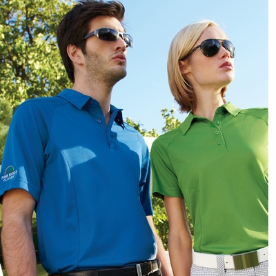 North End Women's Polo Shirt: Easy Care Short Sleeve Performance  (78658)
