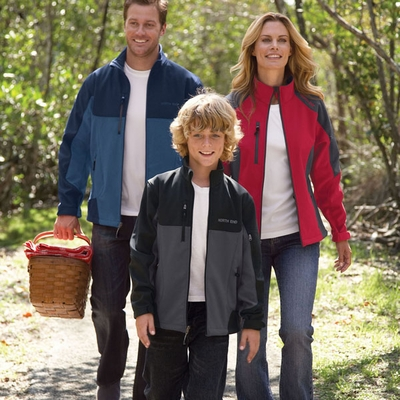 North End Women's Soft Shell Jacket: (78077)