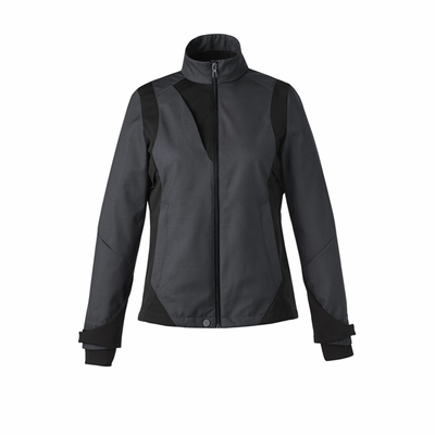 North End Women's Soft Shell Jacket: (78686)