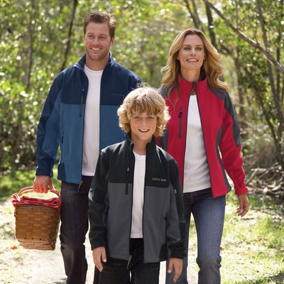 North End Youth Soft Shell Jacket: (68009)