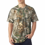 Officially Licensed REALTREE� Camouflage Pocket T-Shirt