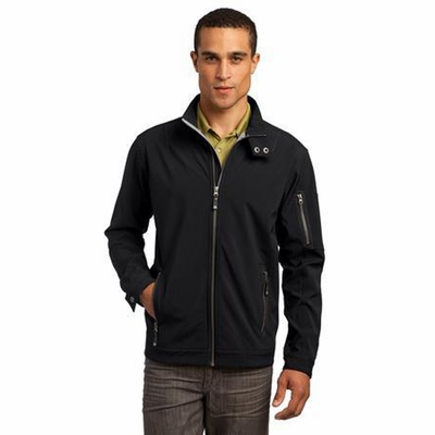 OGIO Men's Jacket: High Performance w/ Snap Closure Cadet Collar(OG503)