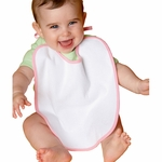 One-2-Wear Infant Bib: 100% Cotton Terry-Velour Feeding (B12)