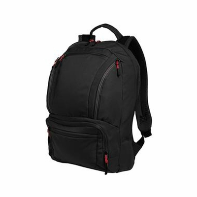 Port Authority Backpack: Cyber Poly Ripstop with Padded Laptop/Tablet Sleeve (BG200)